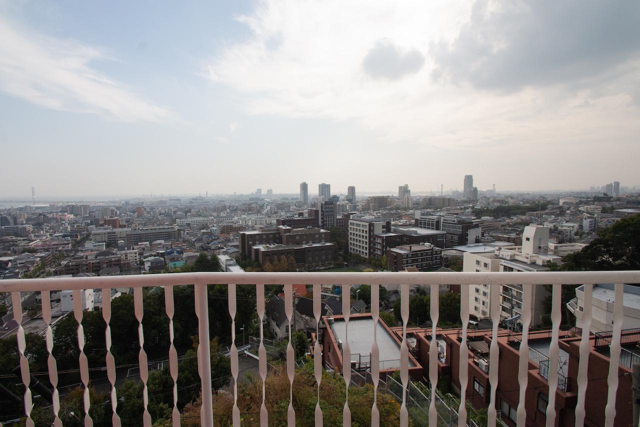 2階バルコニーからのとんでもない景色