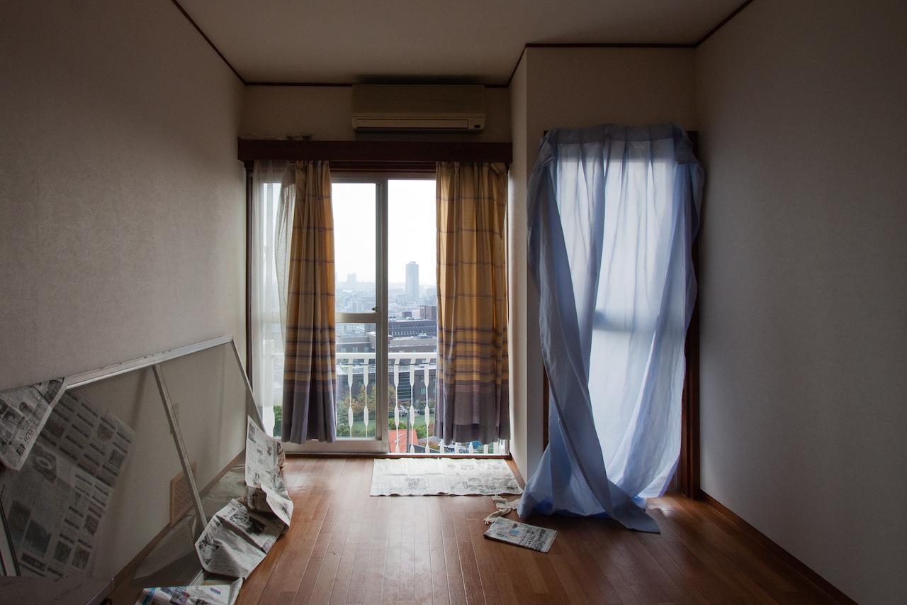 1階南側の窓からもこの景色