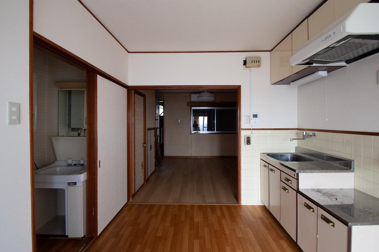1階南側にダイニングキッチン