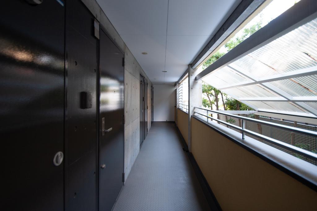 1階外廊下