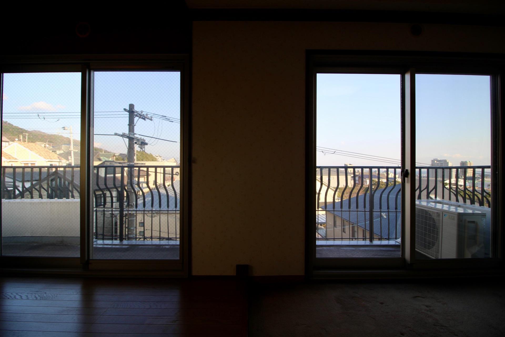 室内からの眺望もなかなか
