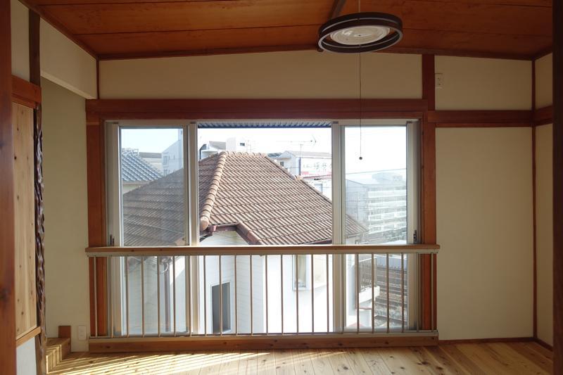 2階南側窓