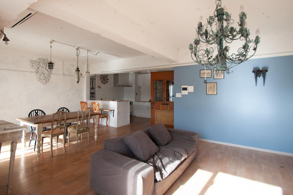 インテリアコーディネートされた家なので、家具もそのまま気に入っていただける方に