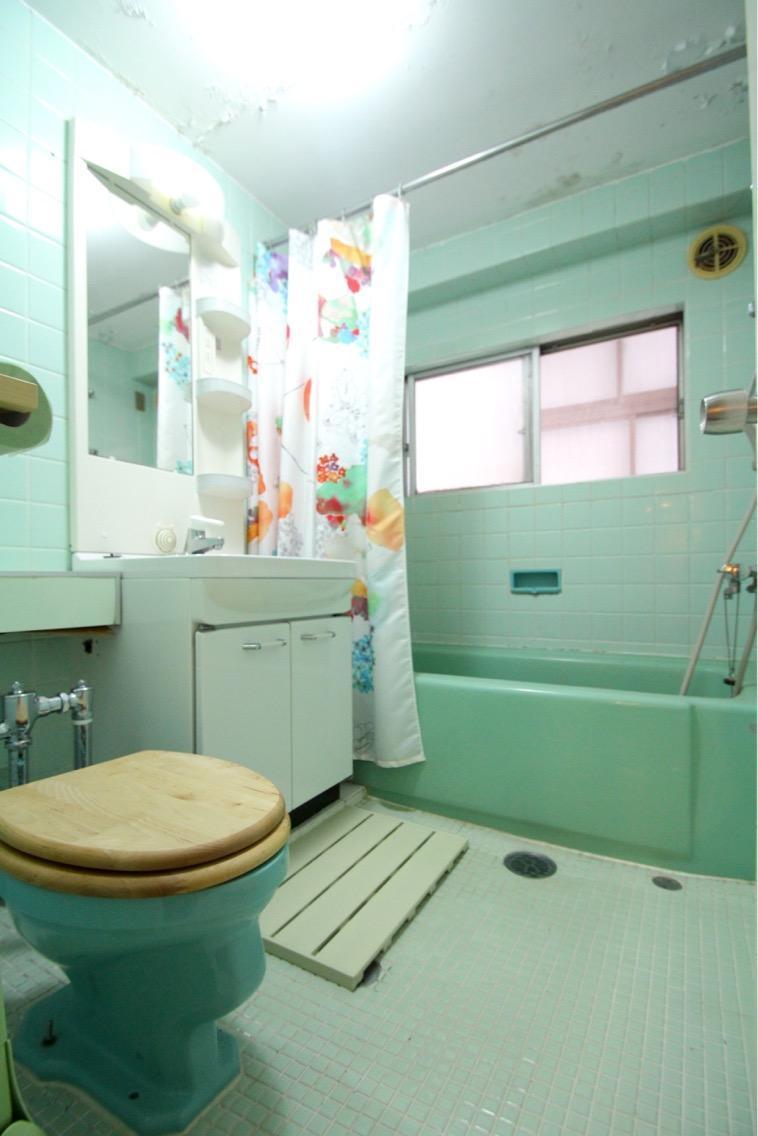 バスルームも外国スタイル
