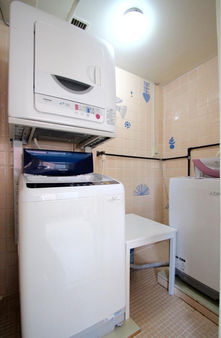 洗濯機は共用。2台あり