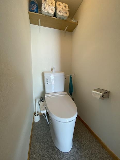 トイレ。清潔感あります