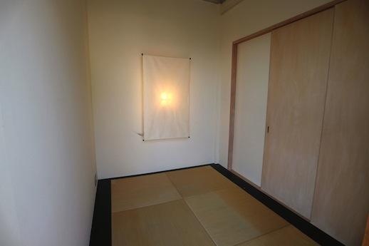 和室のサイズ感と落ち着き、気に入っちゃいました。