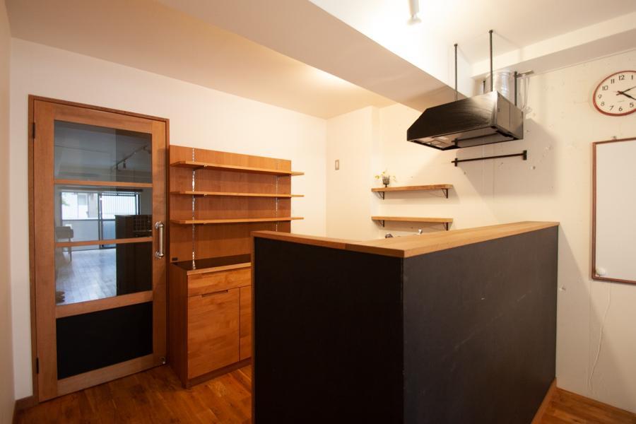 やっぱり便利なキッチンカウンター