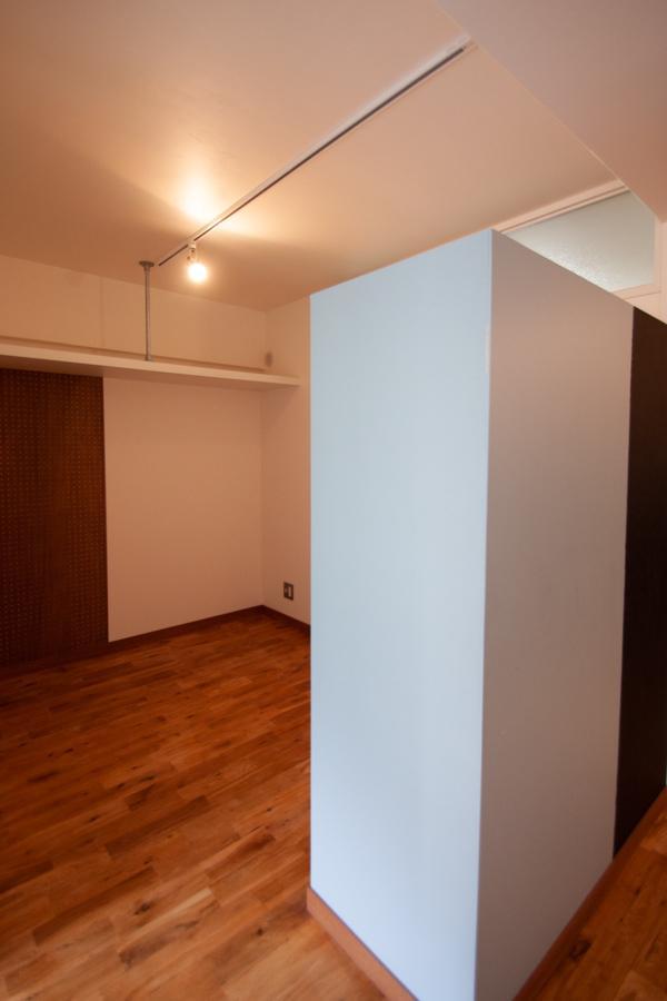 間取りの真ん中にある「storage」空間