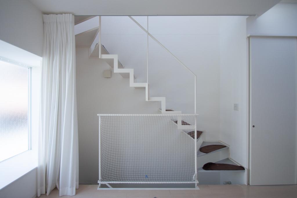 スタイリッシュな階段(2階)