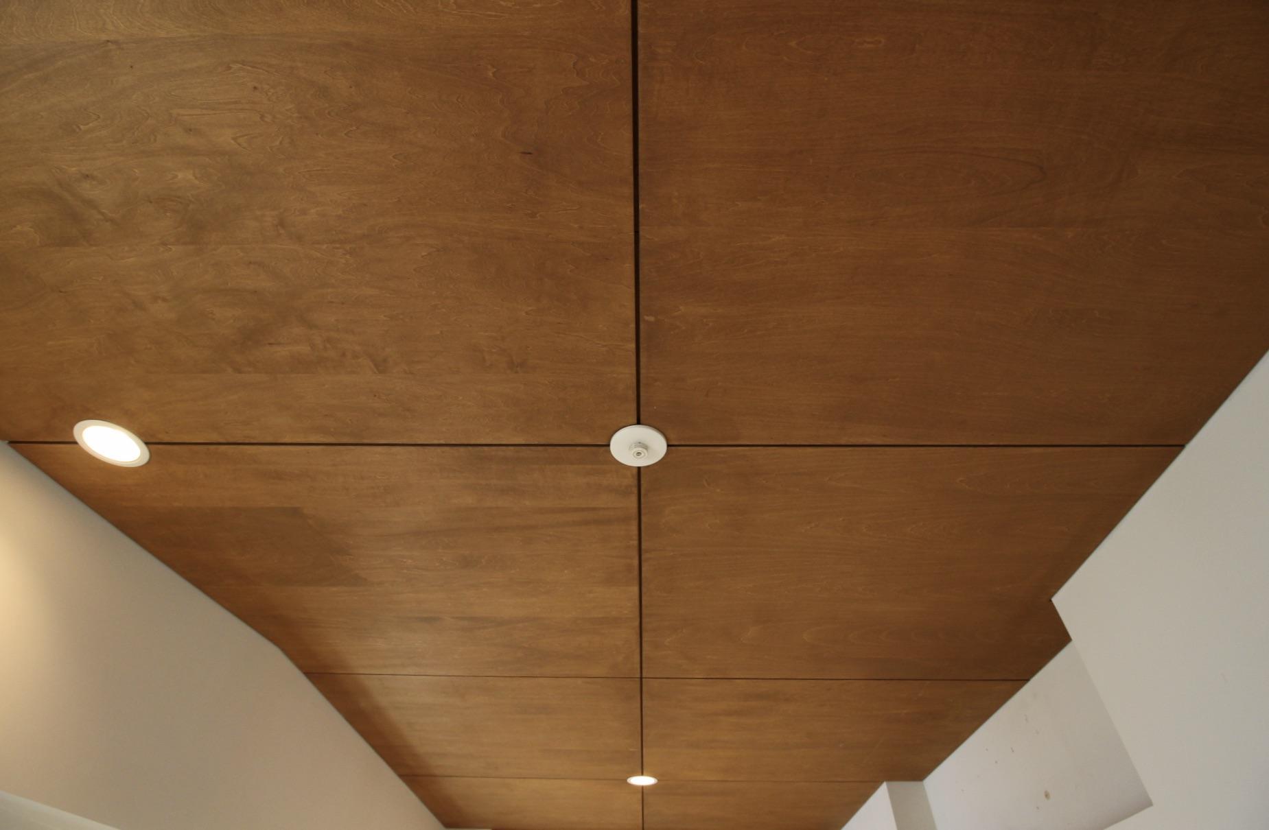 木板の天井
