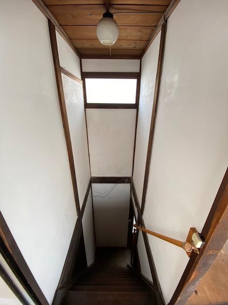階段室も絵になる。