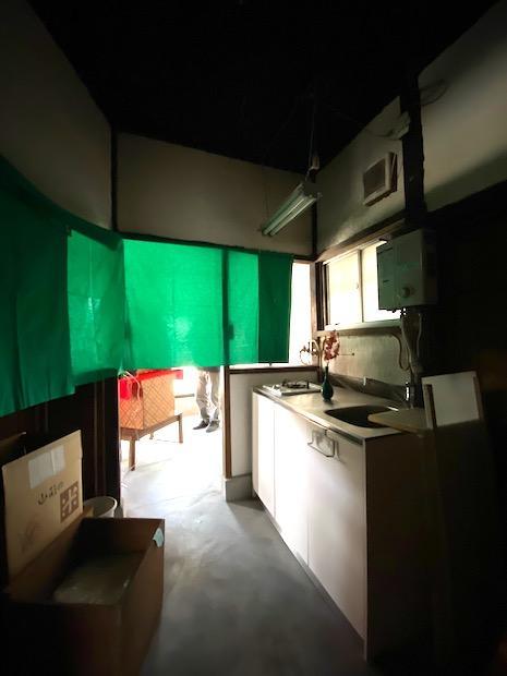 1階奥にはキッチンもあります。
