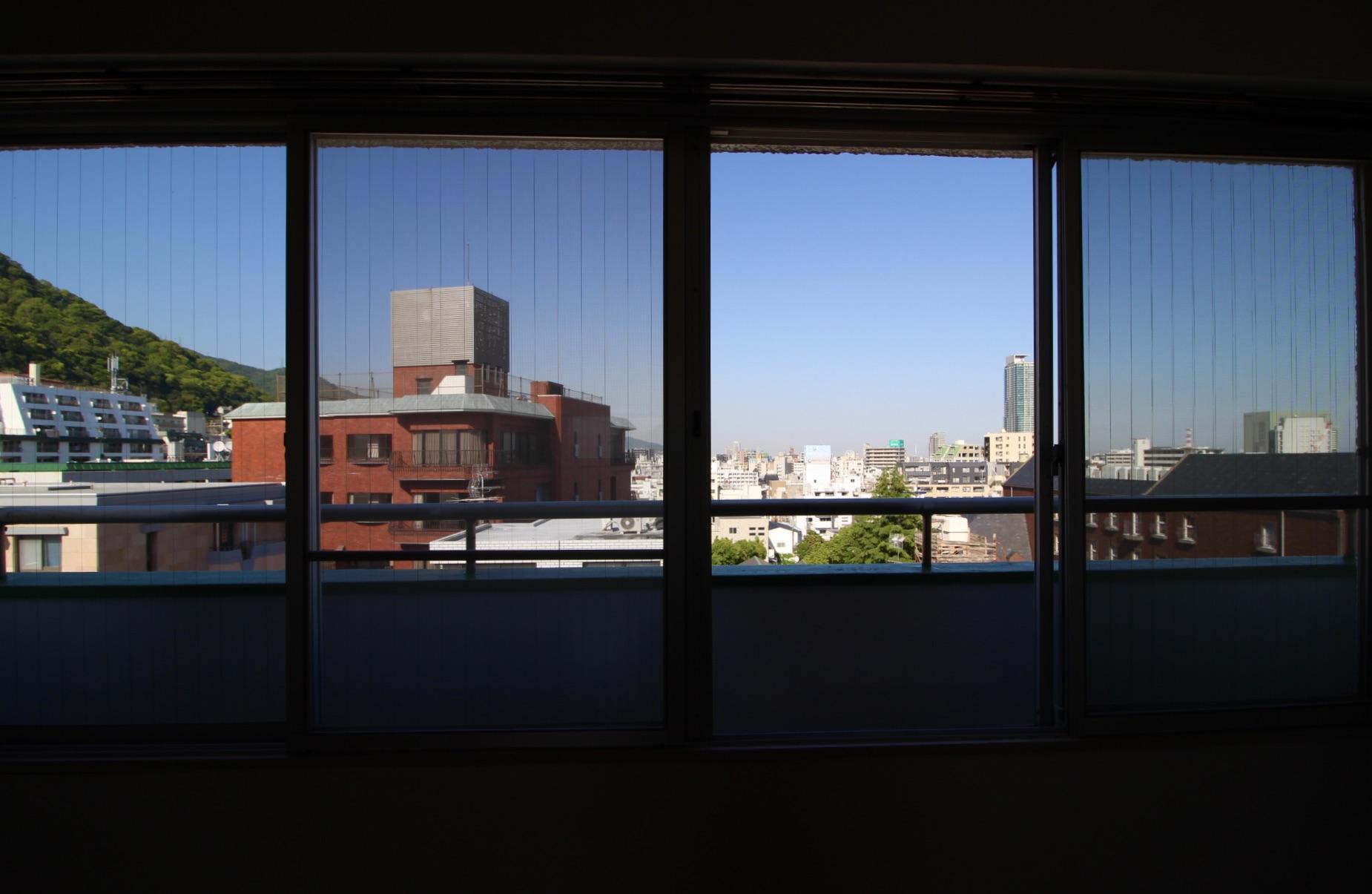 室内からこの景色