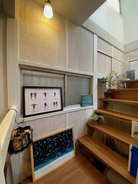 オーナーのように階段に好きなものを飾ってみたい。