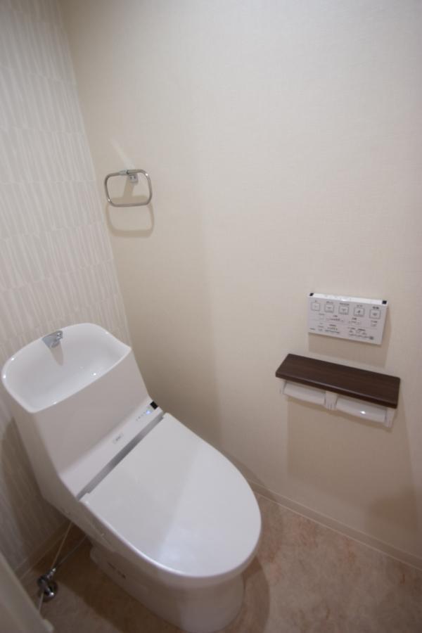 トイレは2階部分