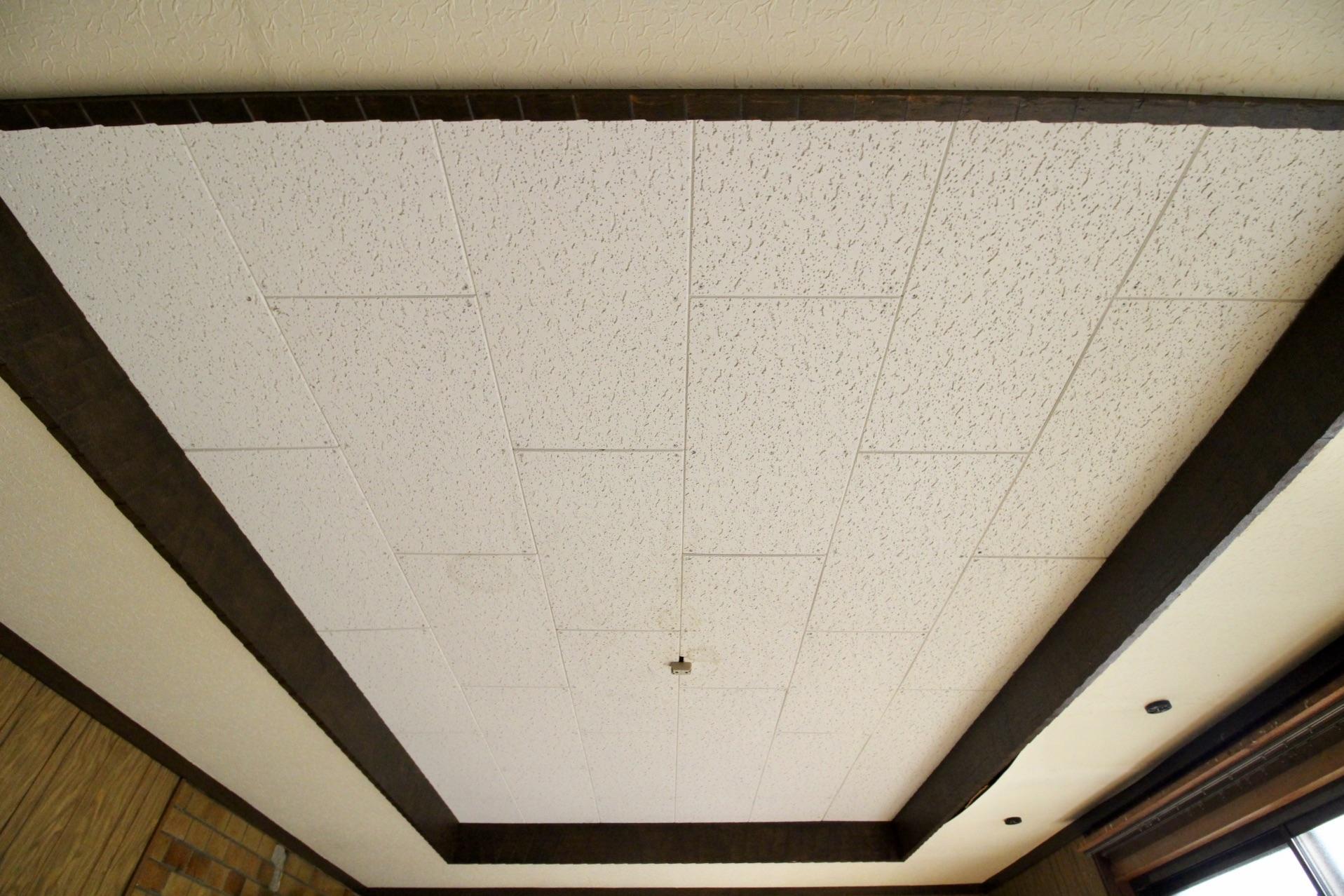 折上天井と凝った仕様