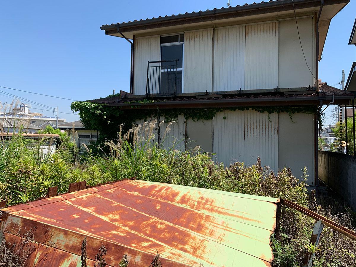 古家、修復は難しそう。