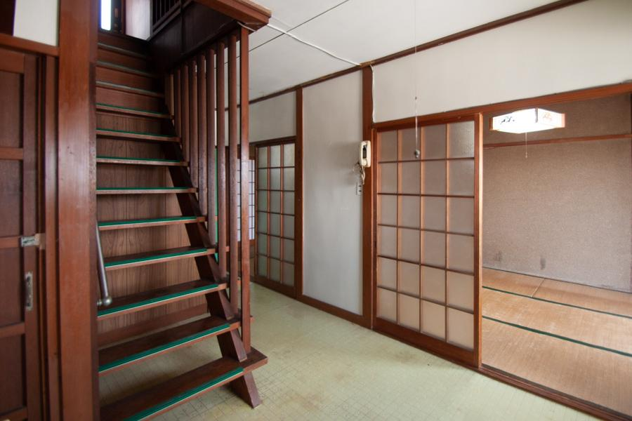 レトロな木質(1階)