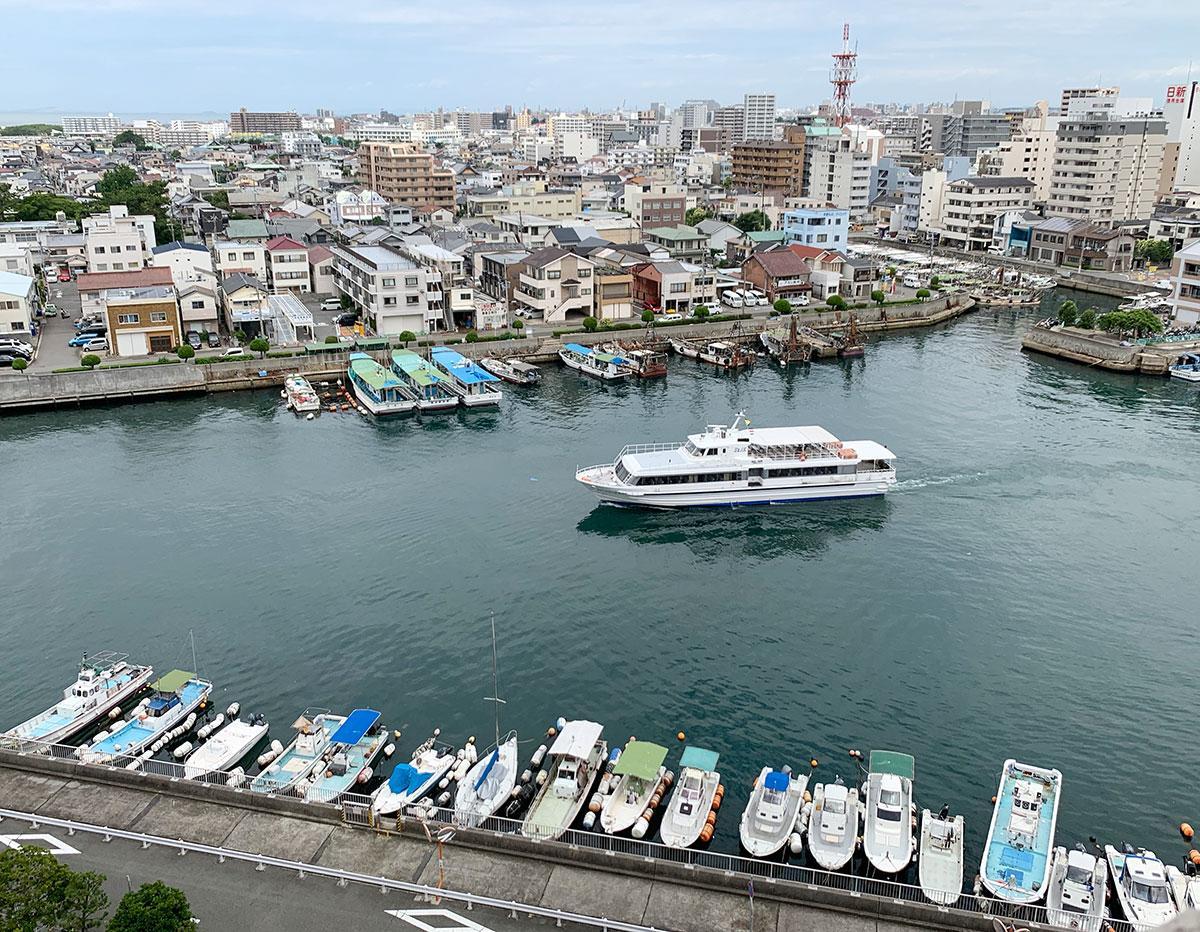 ジェノバラインで淡路島へいこう