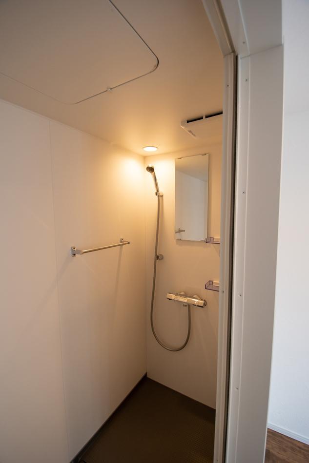 こちらがシャワールーム