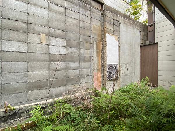 庭の塀が高いのでプライベート感があります