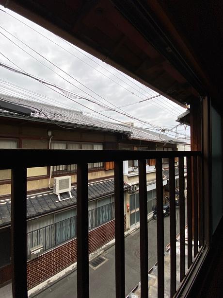 窓からはこの景色です