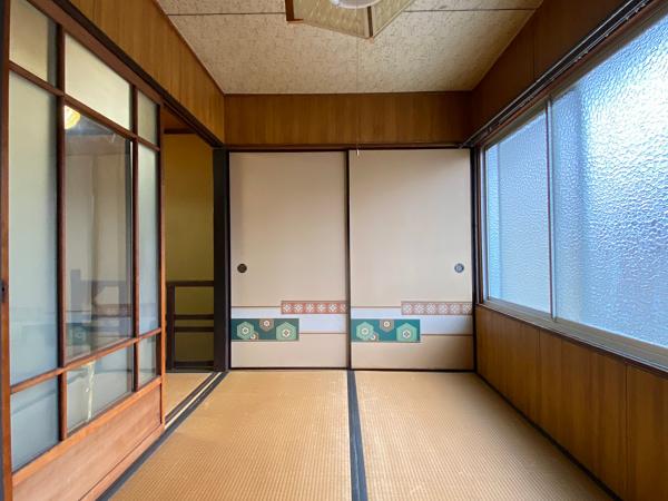2階、北側の和室です