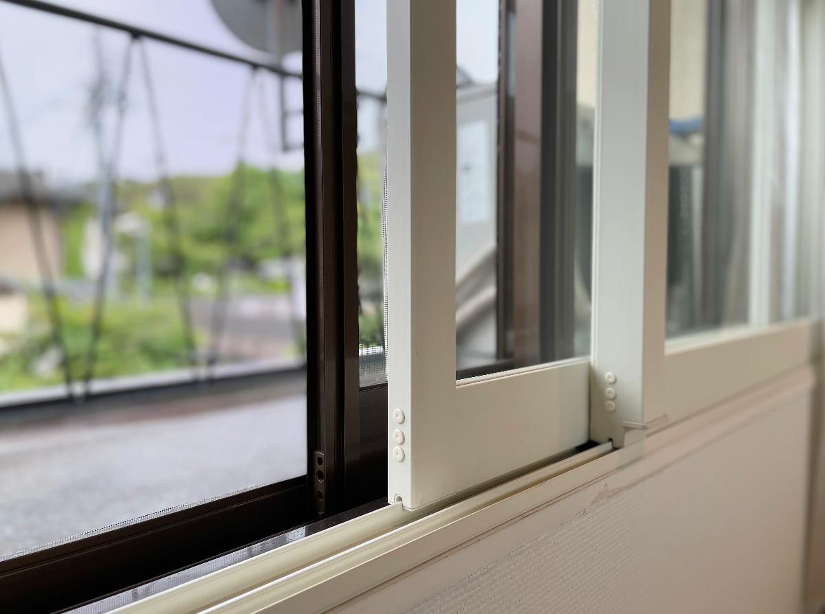 窓はすべて二重サッシ仕様に