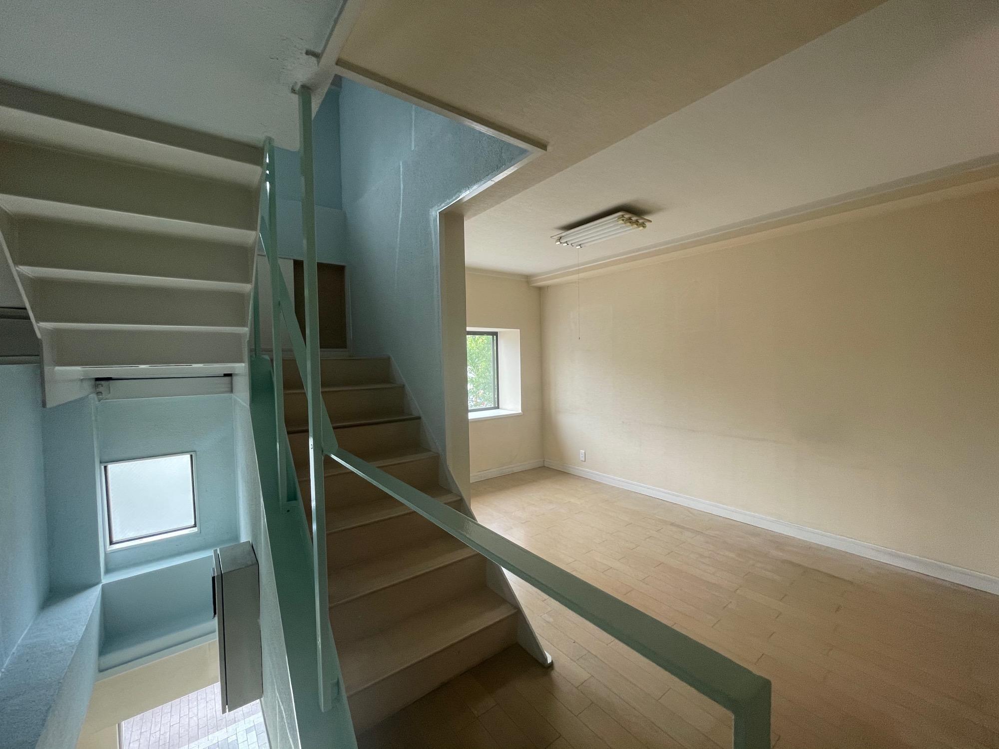 2階以上の空間はこのような形