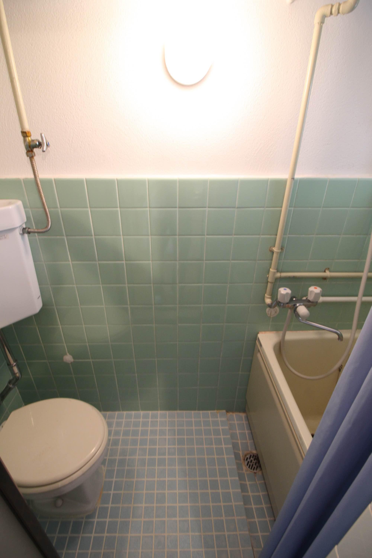 トイレとバスルームはこのような感じ。