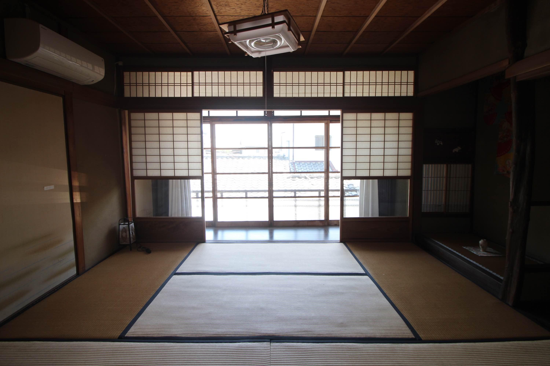 京町家の趣がそのまま残っています。