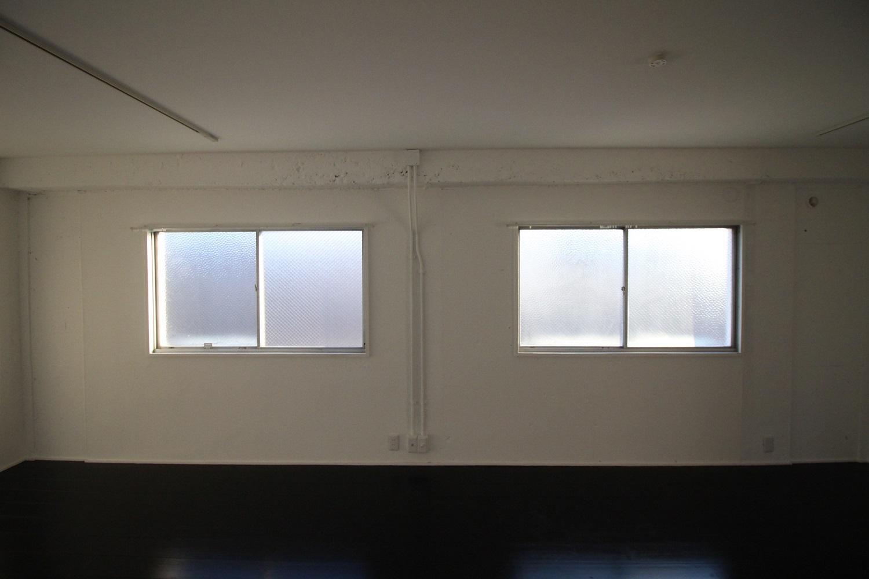 南向きの窓。(4F)