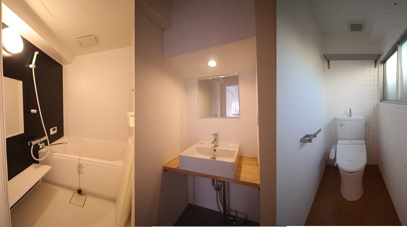 3階水回り写真です。トイレにも窓有。
