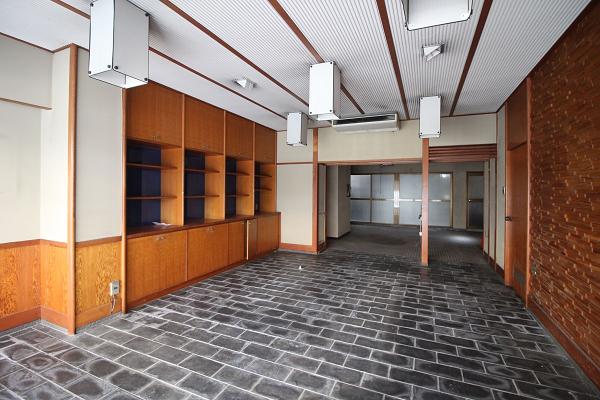 1階の売り場スペースです