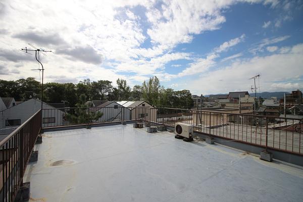 屋上から見た南側の景色です