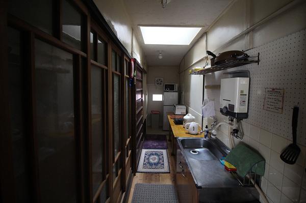 A、C室共用キッチンです。