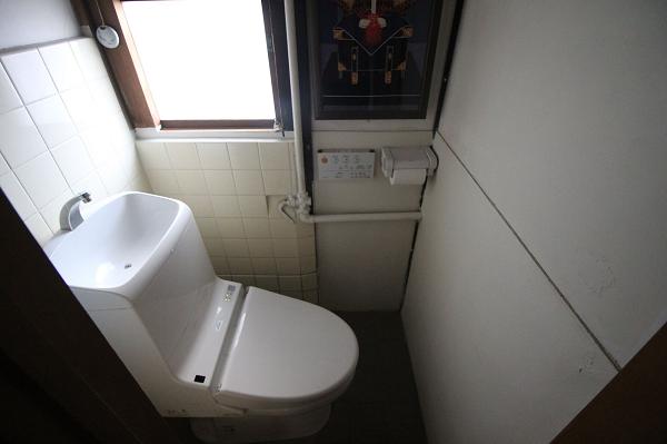 共用トイレです。