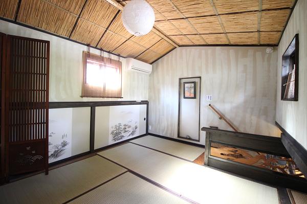 こだわりの詰まった和室です。