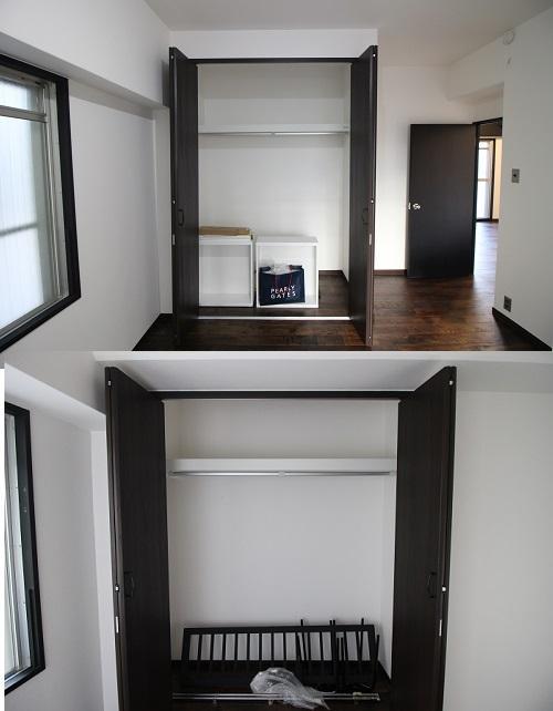各洋室の収納スペース。