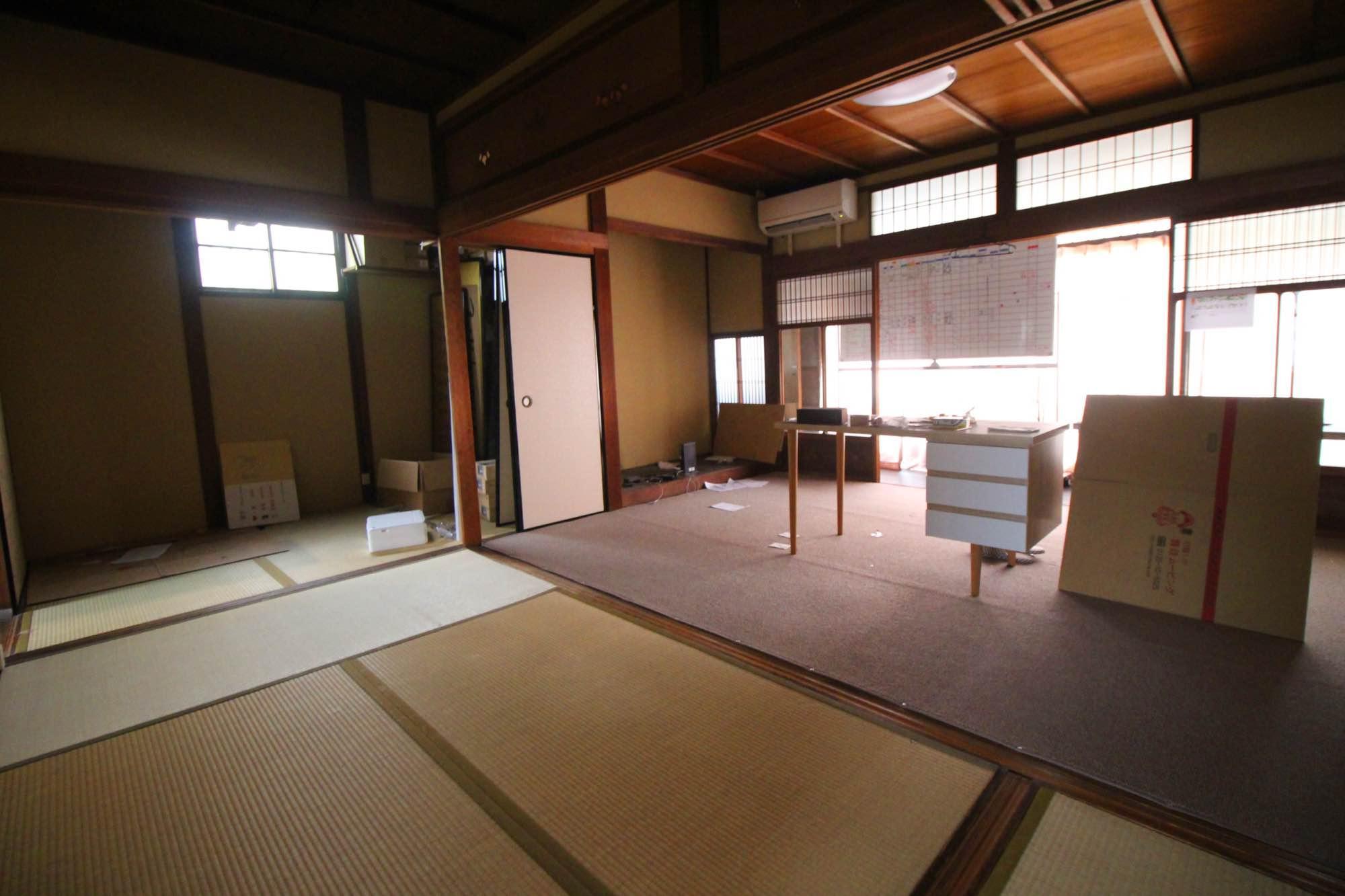 事務所として使用していた部屋。