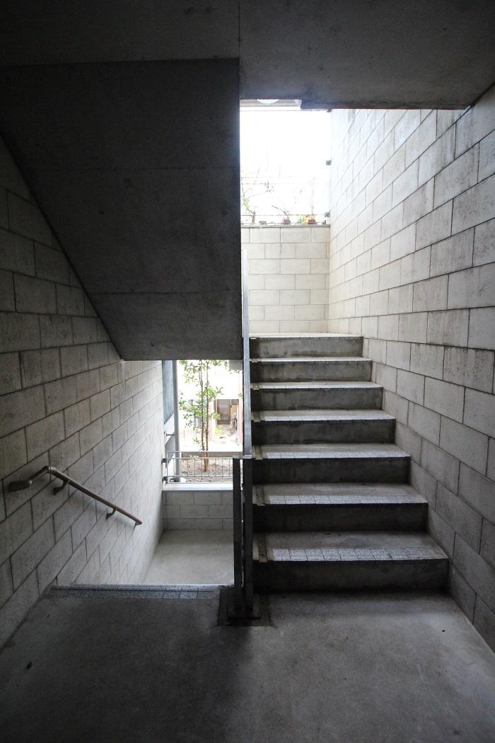 緩めの階段