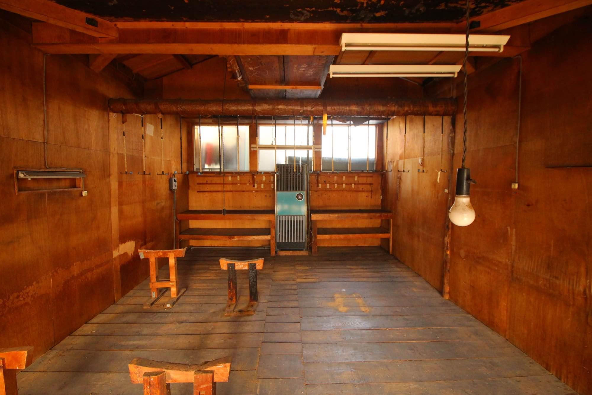 作業場2階正面。