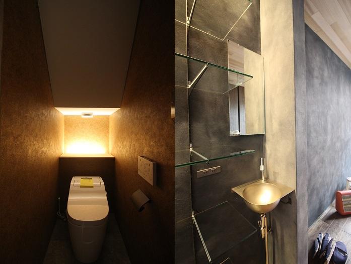 1階のトイレと手洗い