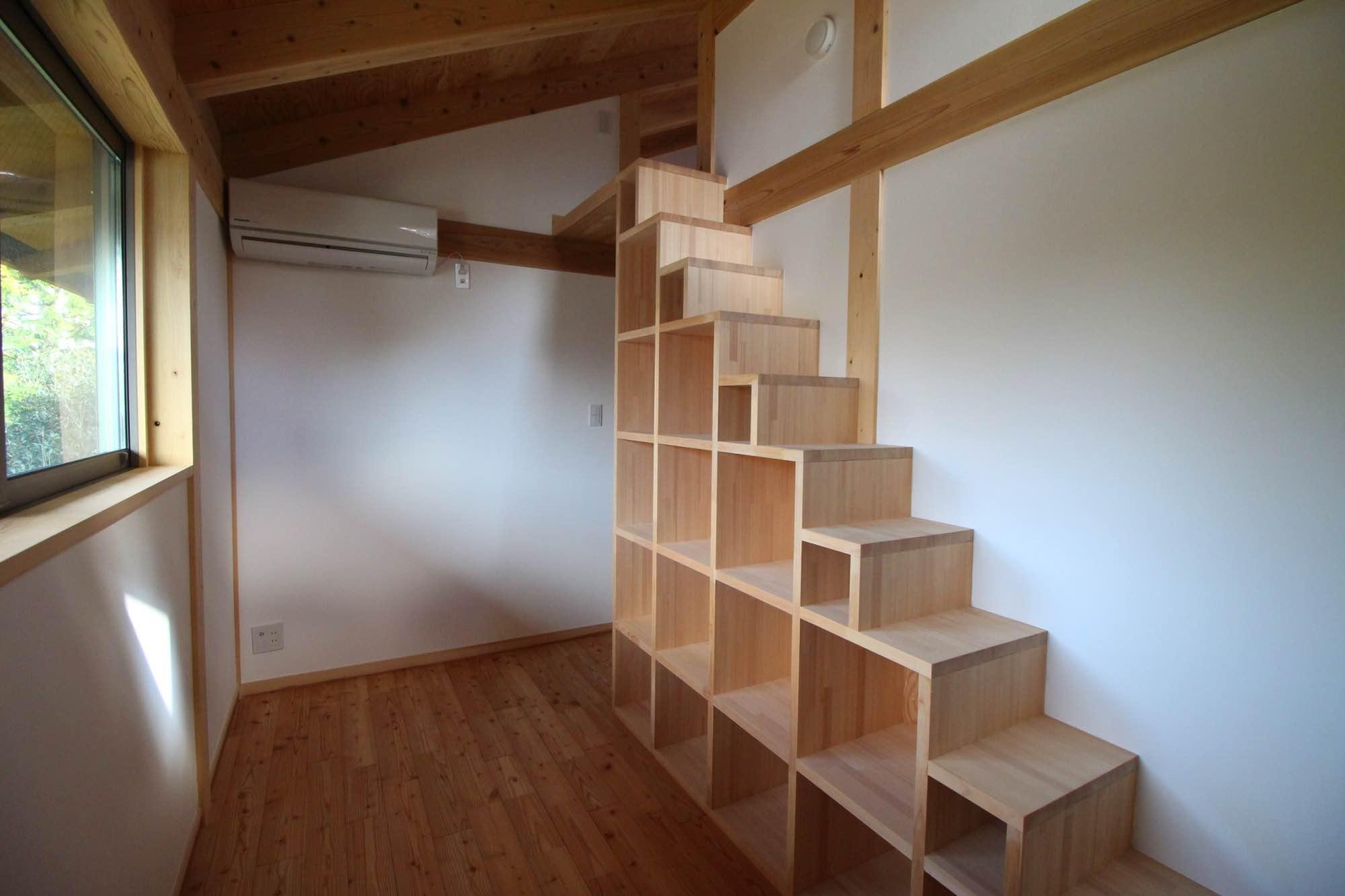 新築の2階のテイストはこのような形。