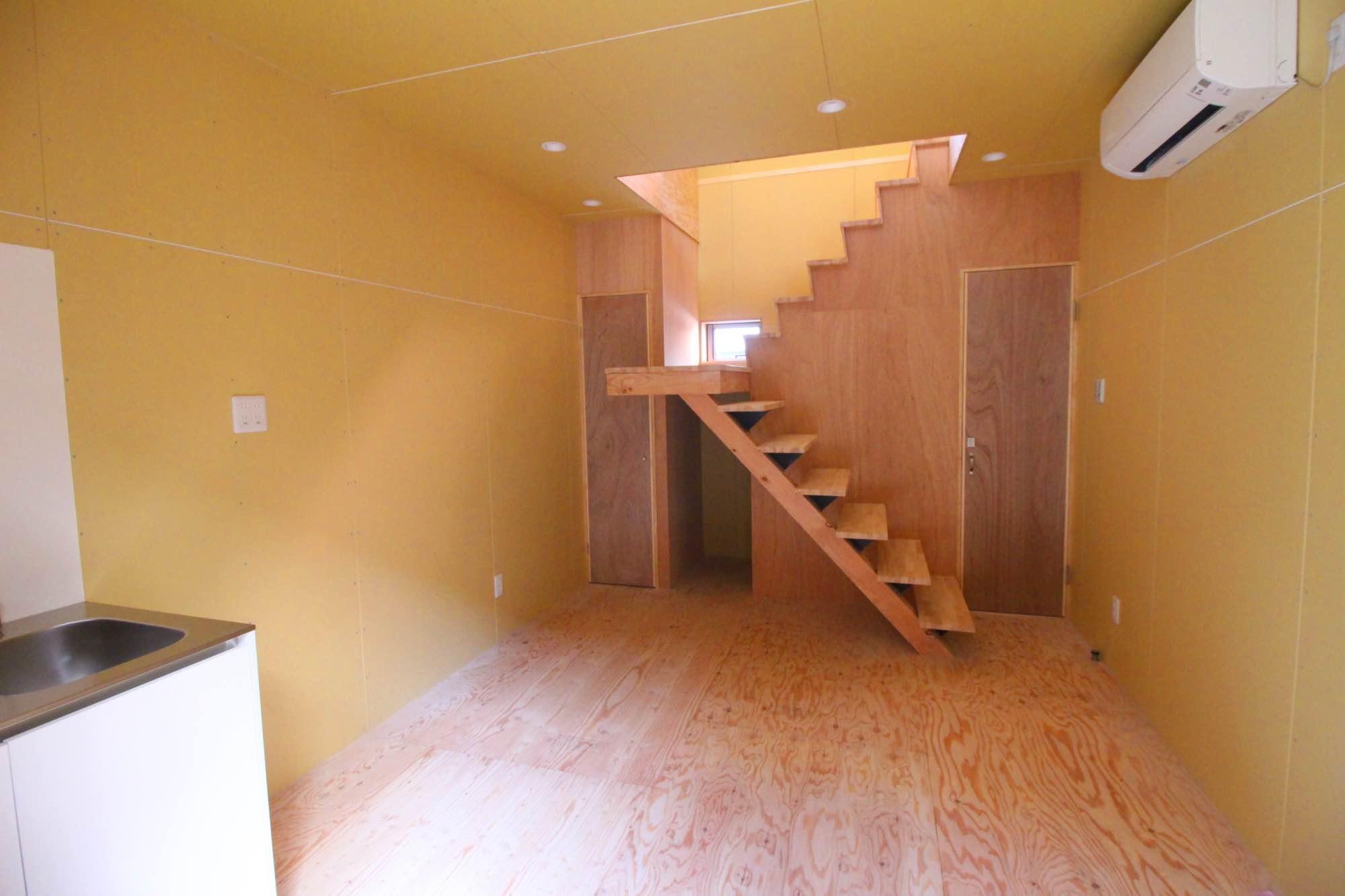 B区画の1階。