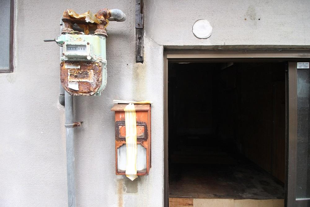 この感じだと長年ガスは使用されてません。