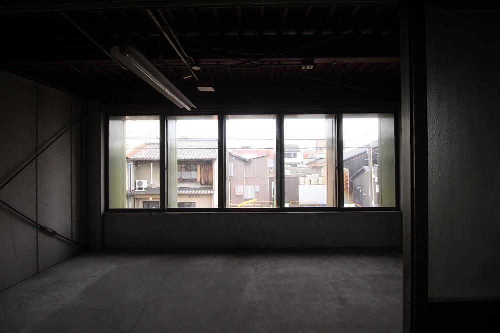 2階のスケルトン部分