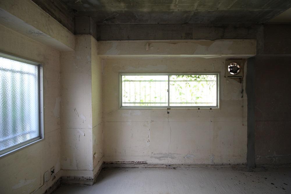 窓は東と南の計3箇所