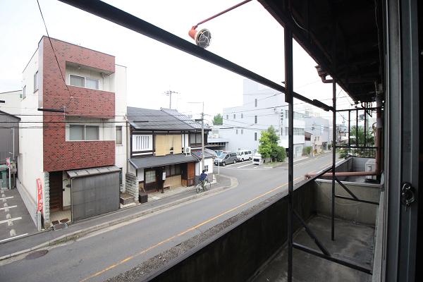 2階からの眺め(西側)